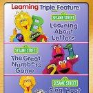 Sesame Street: Learning Triple Feature DVD