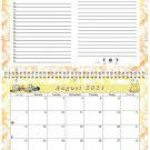 2021 - 2022 Academic Year 12 Months Student Calendar / Planner (Edition #03)