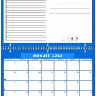 2021 - 2022 Academic Year 12 Months Student Calendar / Planner (Edition #04)