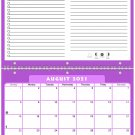 2021 - 2022 Academic Year 12 Months Student Calendar / Planner (Edition #05)