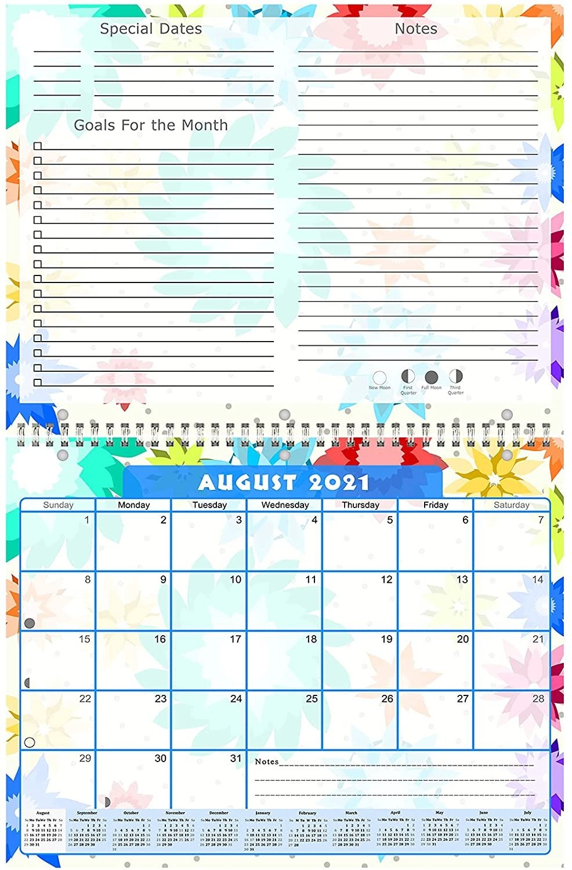 2021 - 2022 Academic Year 12 Months Student Calendar / Planner (Edition #08)
