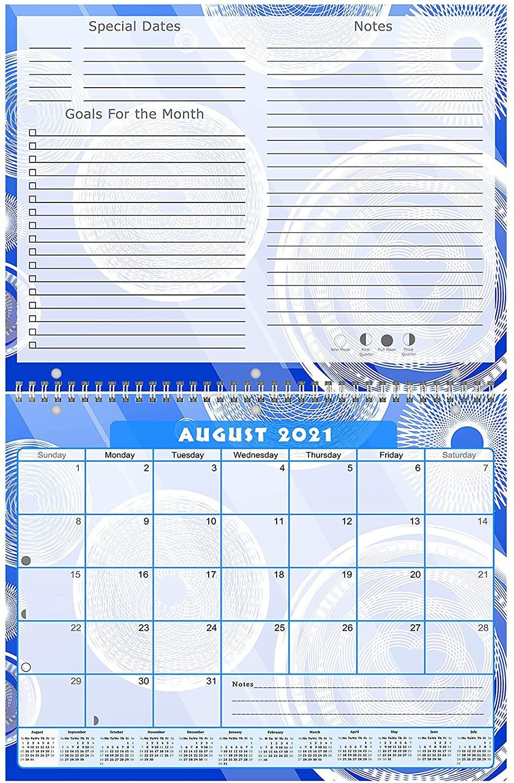 2021 - 2022 Academic Year 12 Months Student Calendar / Planner (Edition #013)