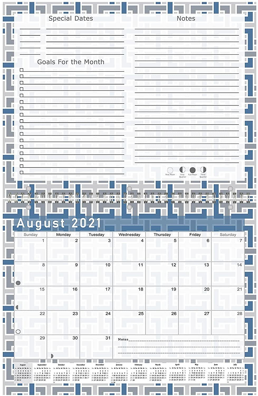 2021 - 2022 Academic Year 12 Months Student Calendar / Planner (Edition #014)
