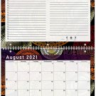 2021 - 2022 Academic Year 12 Months Student Calendar / Planner (Edition #015)