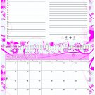 2021 - 2022 Academic Year 12 Months Student Calendar / Planner (Edition #016)