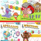 Stick-to Learning A Sing-A Long - Writing, Spelling, Subtraction, Addition - Sticker Book