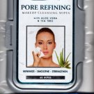Spa Works Pore Refining Makeup Cleansing Wipes with Aloe Vera & Tea Tree 60 serviettes