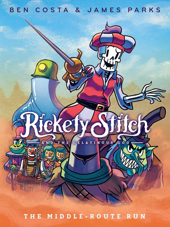 Rickety Stitch and the Gelatinous Goo Book 2 Book