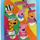 Peppa Pig Choose Happy  - 16 Pieces Jigsaw Puzzle