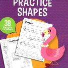 Teaching Tree Practice Shapes - Worksheets Workbook - Grades PRE K-K