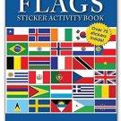 Flags Sticker Activity Book - Children's Sticker Activites Books