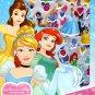 Disney Princess - Includes Puffy Stickers 4 Sheet Sticker Book