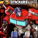 Transformers - Over 150 Stickers 4 Sheet Sticker Book
