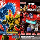 Transformers - 152 + 150 Stickers Book (Set of 2 Pack)
