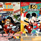 Disney Mickey - Over 150 Includes Stickers Collection Book (Set of 2 Pack)