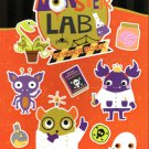 Monster Lab - Stickers Book - 260 Stickers - Halloween Themed