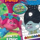 Bendon Trolls Don't Be Smug, Give a Hug 48-Page Color by Number Coloring Book