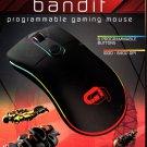 New TZUMI Alpha Gaming BANDIT Programmable USB RGB Gaming Mouse - FREE Ship!