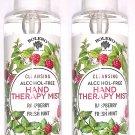 Bolero Cleansing Alcohol - Free Hand Therapy Mist Raspberry + Fresh Mint 5fl Set