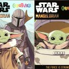 Star Wars Mandalorian - Coloring & Activity Books - The Forse is Strong & The Asset (Set of 2 Books)
