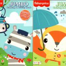 Fisher-Price - Jumbo Coloring & Activity Books (Set of 2 Books)