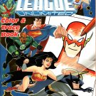 DC Comics Justice League Unlimited - Trace and Color Coloring and Activity Book