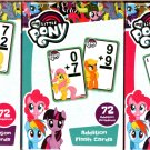 My Little Pony - Subtraction Flash Cards, Addition & Colors, Numbers and Shapes Cards (Set of 3)
