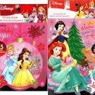 Holiday Christmas Sticker Books - Disney Princess 125 Stickers! (Set of 2)