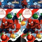 Holiday Christmas Sticker Books - Marvel Spider-Man 106 Stickers! (Set of 2)