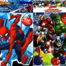 Holiday Christmas Sticker Books - Marvel Spider-Man and Avengers 125 Stickers! (Set of 2)