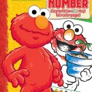 Sesame Street 48-Page Color by Number Coloring Book with Full-Color Border Guide