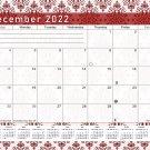 2021 - 2022 Monthly Spiral-Bound Wall / Desk Calendar - 16 Months (Edition #05)