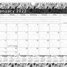 2021 - 2022 Monthly Spiral-Bound Wall / Desk Calendar - 16 Months (Edition #011)