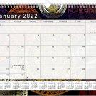 2021 - 2022 Monthly Spiral-Bound Wall / Desk Calendar - 16 Months (Edition #012)
