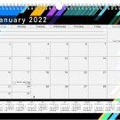 2021 - 2022 Monthly Spiral-Bound Wall / Desk Calendar - 16 Months (Edition #013)