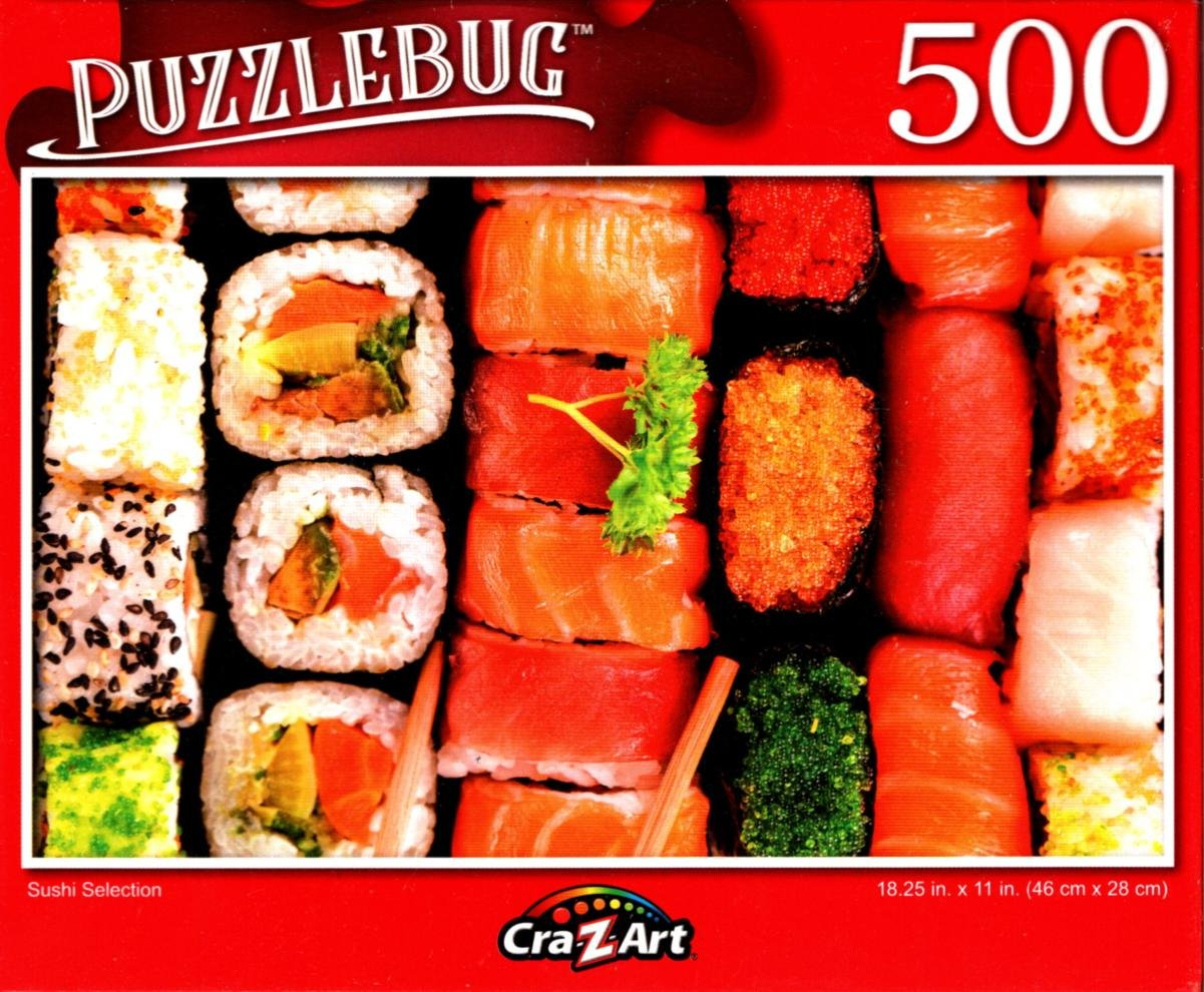 Sushi Selection - 500 Pieces Jigsaw Puzzle