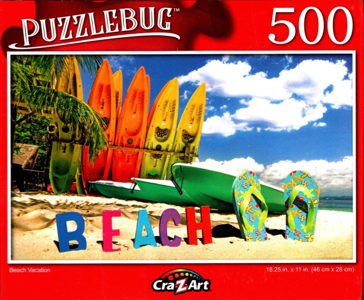 Beach Vacation - 500 Pieces Jigsaw Puzzle