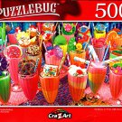 Colorful Freakshakes - 500 Pieces Jigsaw Puzzle