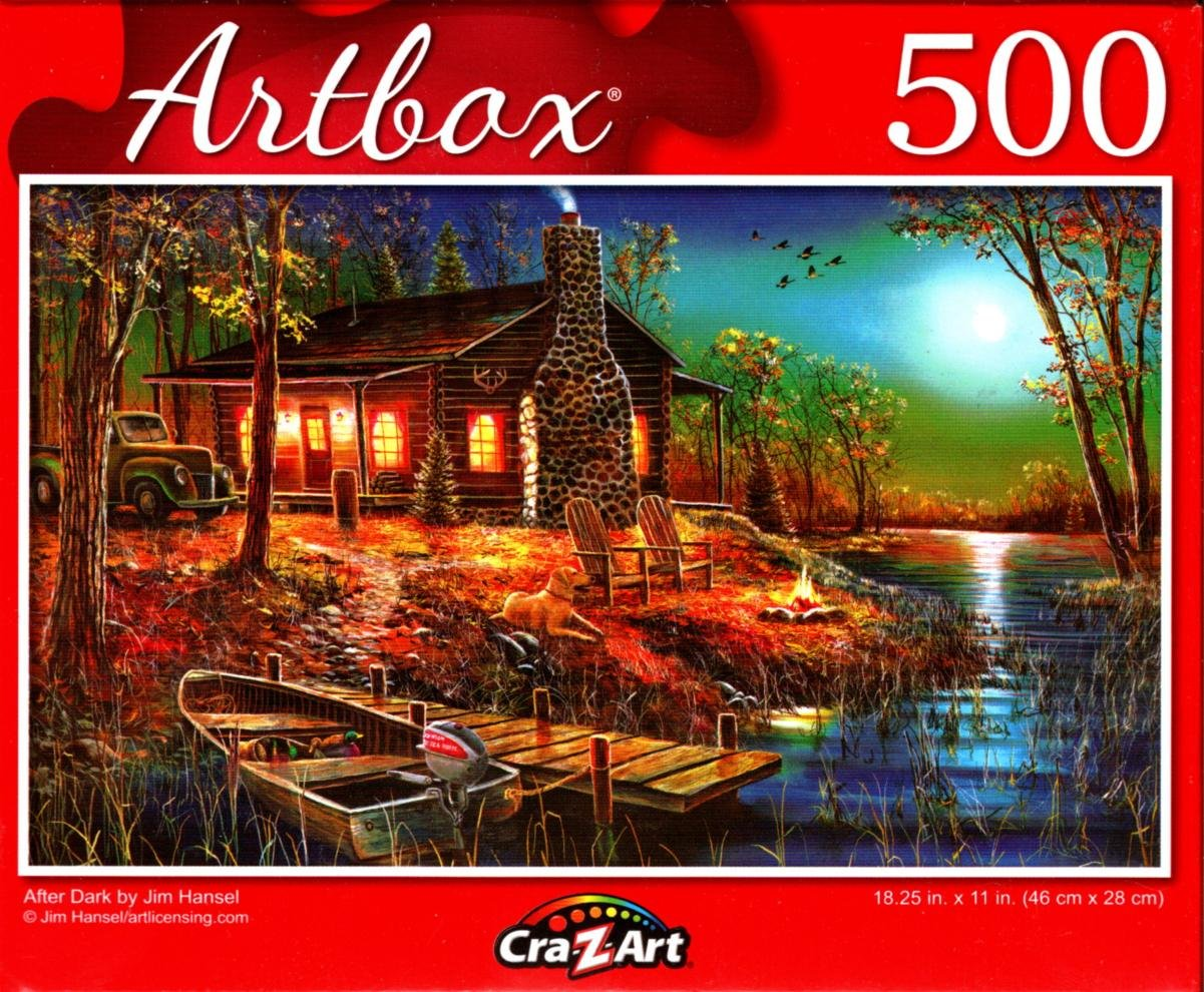 After Dark by Jim Hansel - 500 Pieces Jigsaw Puzzle