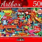 Neon Retro Signs by Garry Walton - 500 Pieces Jigsaw Puzzle