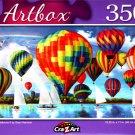Hot Air Balloons II by Sean Harrison - 350 Pieces Jigsaw Puzzle