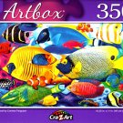 Fish School by Corinne Ferguson - 350 Pieces Jigsaw Puzzle