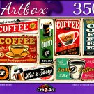 Retro Cafe Banners - 350 Pieces Jigsaw Puzzle