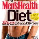 The Men's Health Diet: 27 Days to Sculpted Abs. Hardcover Book