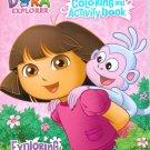 Dora the Explorer Jumbo Coloring & Activity Book ~ Exploring Together