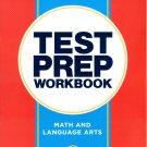 Third Grade Math & Language Arts Standards Based Excellent Standardized Test Preparation Workbook