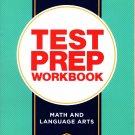 Kindergarten Math & Language Arts Standards Based Excellent Standardized Test Preparation Workbook