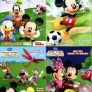 Disney Mickey Mouse Clubhouse - Big Fun Book to Color - (Set of 4 Books)