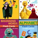 Sesame Street Educational Flash Cards for Early Learning - (Set of 4 Pack) v4