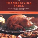 The Thanksgiving Table Paperbark Book